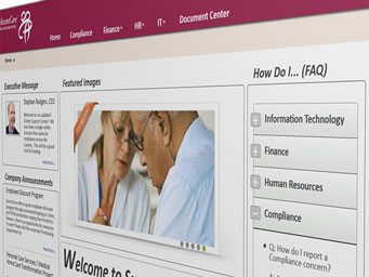 AccentCare Extranet Image