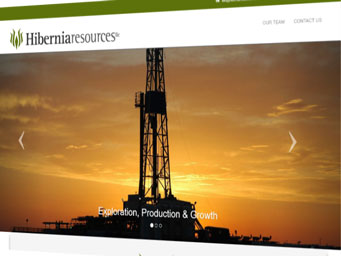 Hibernia Resources Website Image