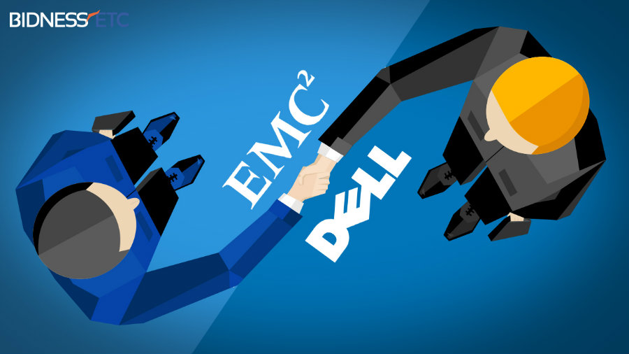 Dell + EMC merger image